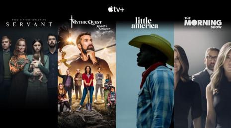 Služba Apple TV+ a mnoho dalších