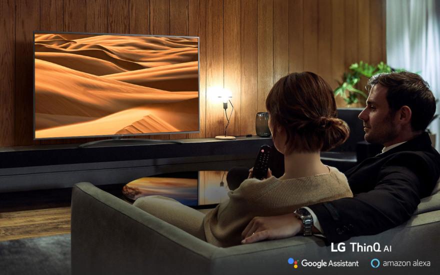 Zažijte nevídané díky LG AI TV