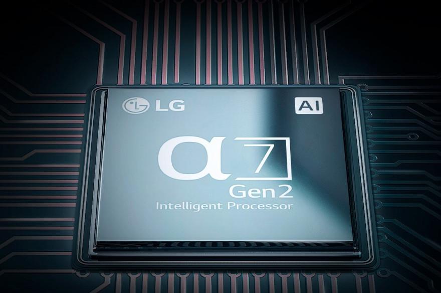 Technologie OLED v kombinaci s procesorem α7