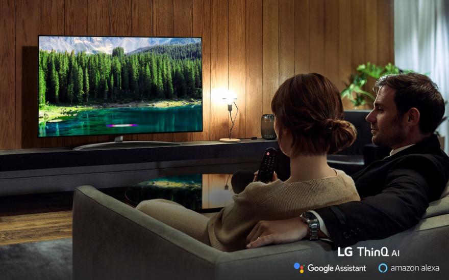 LG TV si podává ruku s novou inteligencí