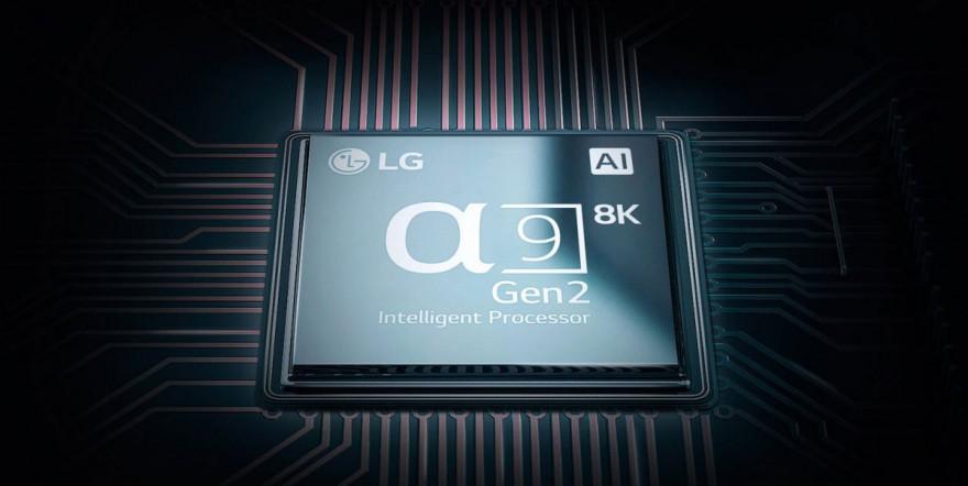 Inteligentní 8K procesor α9 druhé generace