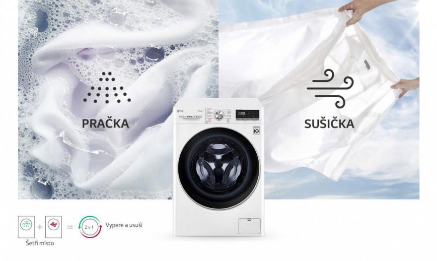 Pračka a sušička v jednom