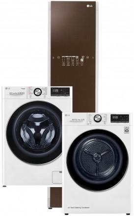 LG F4WV909P2 + LG RC91V9AV2W + LG Styler S3RERB Espresso