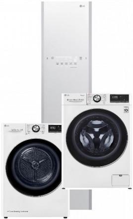 LG F4WV910P2 + LG RC91V9AV2W + LG Styler S3WERB White