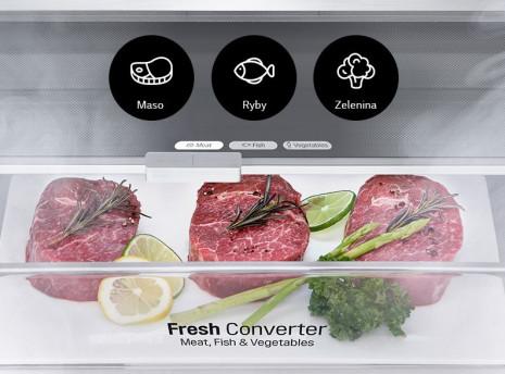 Nastavte si optimální teplotu podle typu potravin