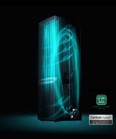 20 let záruky na lineární kompresor