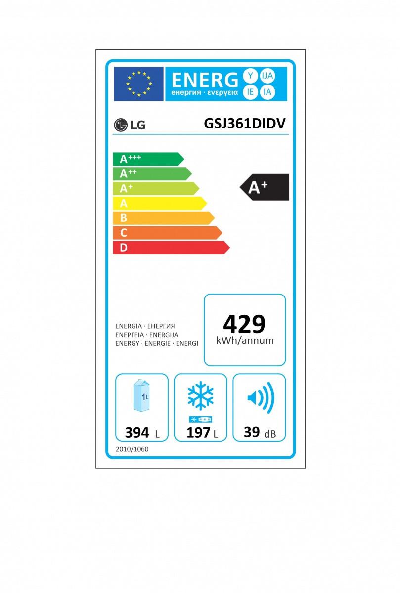 LG GSJ361DIDV