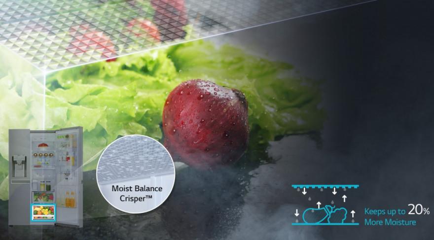Moist Balance Crisper™
