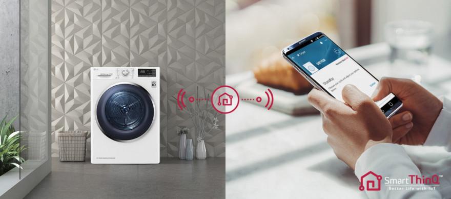 Inteligentní a zároveň praktická díky Smart ThinQ™
