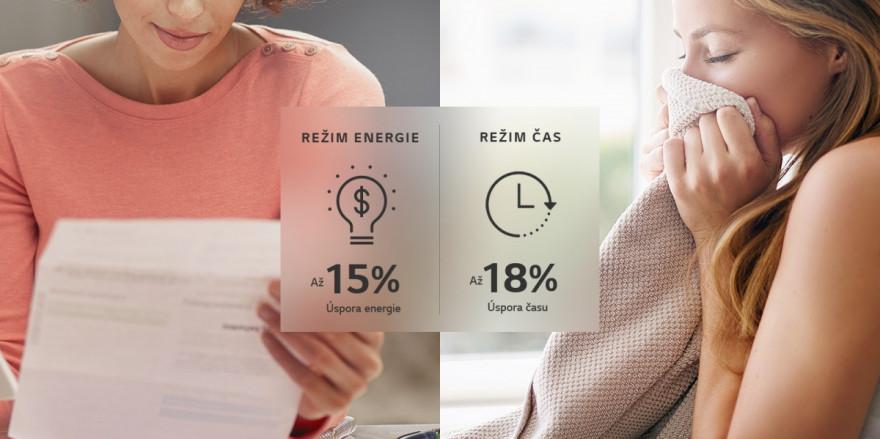 Ušetřete energii nebo čas